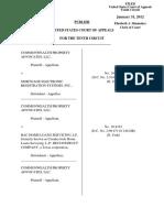 Commonwealth Prop. Advocates v. Mortgage Elec. Reg. Sys., 10th Cir. (2011)