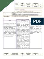 Lenguaje Planificacion - 2 Basico Junio