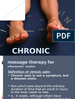 8008673 Massage Therapy for Chronic Pain
