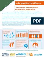 Alerta de Género_Terremoto Ecuador 05 2016