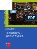 II Ciclo Guias Cs Soc Modulo N 4 Neoliberalismo y Contexto Mundial