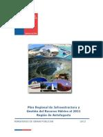 Plan Regional MOP Antofagasta 2012
