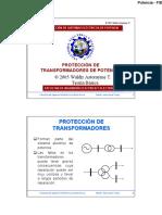 Capítulo5 - Protección de Transformadores de Potencia