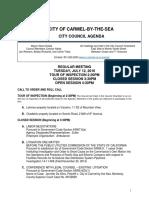 Agenda 07-12-16
