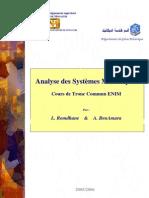 cours systèmes mécaniques TC ENIM