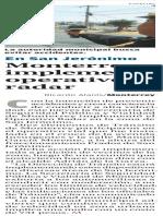 08-07-16 Monterrey implementa operativo radar