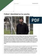 Identidad Colectivo Sport