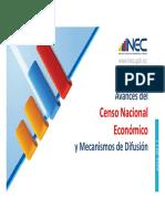 Resultados Generales Censo Economico