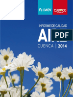 Informe Calidad Del Aire 2014 Cuenca Ecuador