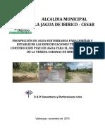 Estudio de Agua Subterranea Sabanas de Ibirico La Jagua (1)