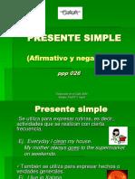 Ppp 026 Presente Simple Afirm Neg