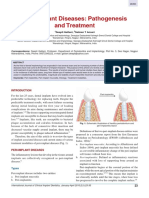 Peri-implant Diseases Pathogenesis and Treatment