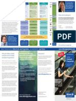 Global Graduate Programme 2016 Flyer