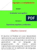 S03 - Expresiones Regulares y Autómatas.