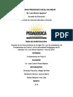 Investigación (Juan Carlos Pérez)