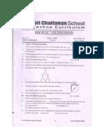 10th Cbse Maths Paper