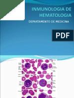 INMUNOLOGIA DE HEMATOLOGIA
