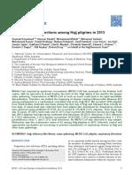 Viral Respiratory Infections Among Hajj Pilgrims in 2013
