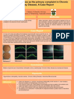 Bilateral Vision loss as the primary complaint of CKD