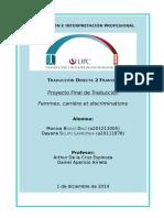 Boletín informativo del HALDE «Femmes, carrière e discrimination»   - TDF2