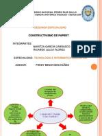 CONSTRUCTIVISMO DE PAPERT
