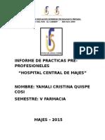 Informe de Practicas Hospital