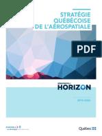Strategie québécoise de l'aerospatiale