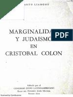 Marginalidad y Judaismo en Cristobal Colon