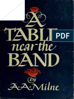 A Table Near the Band  A. A. Milne
