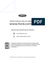 Manual Mantenimiento Ford Ranger 2013