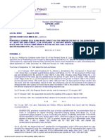1. Batong Buhay Gold Mines, Inc vs Hon. Dionisio Dela Serna, GR No 86963, 8-6-1999