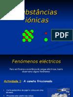 Subst%E2ncias i%F3nicas - apresenta%E7ao