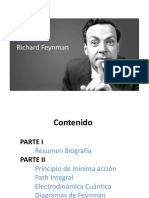 Conferencia sobre la vida personal y profesional de Feynman