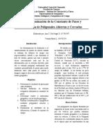 Determinación de La Constante de Pasos y Realización de Poligonales Abiertas y Cerradas