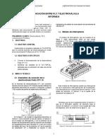 Comunicación Entre Plc y La Electroválvula