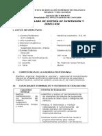 Sistema de Suspensión y Dirección I - ROBINSON GARCIA