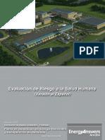 Evaluación de Riesgos Para La Salud Humana Para La Planta de Energía Renovable Localizada en El Municipio de Arecibo
