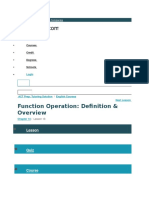 Operation Functions