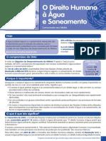 O Direito Humano à Água e Saneamento.pdf