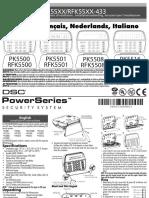PK5516 LED v1.0 Installation Manual
