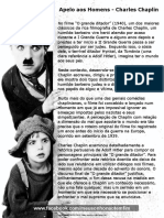 Apelo Aos Homens - Charles Chaplin