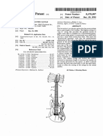 "U.S. Patent 5,175,387, entitled ""Seven String Electric Guitar"", 1992."