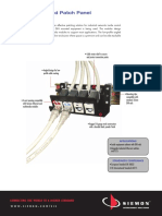 Siemon Din Rail Mounted Patch Panel Spec Sheet
