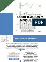 Codificacion y Modulacion