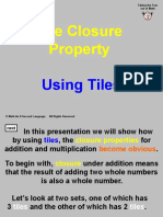 4 t Closure Property