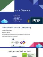 Cloud Computing -SaaS