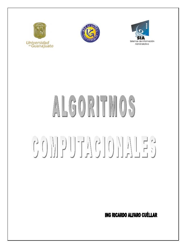 Manual de Introduccion Algoritmos Computacionales