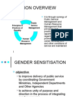 Gender Sensitisation