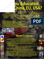 BOOK 12--Are You Educated China Japan Us Eu , 300 Capabilities From 5 Models Excerpt