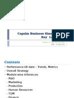 Capsim Business Simulation – Key Learnings_Final